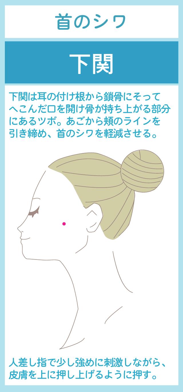 首のシワに効果的な:下関