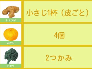 冷え性に効果的なグリーンスムージーのレシピ