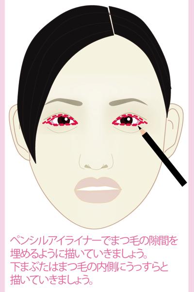 壇蜜さん風芸能人の真似メイク5